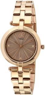 Timex TW000Z206 Brown Dial Analog Women's Watch (TW000Z206)