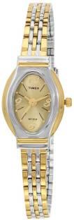 Timex TW000JW26 Brown Dial Analog Women's Watch (TW000JW26)