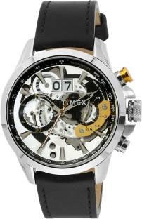 Timex TWEG16300 Black Dial Analog Men's Watch (TWEG16300)