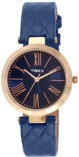 Timex TWEL11803 Blue Dial Analog Women's Watch (TWEL11803)
