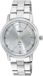 Timex TW000G916 Silver Dial Analog Men's Watch (TW000G916)