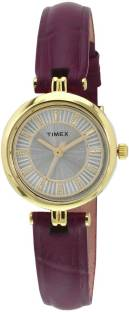 Timex TWEL11409 Silver Dial Analog Women's Watch (TWEL11409)