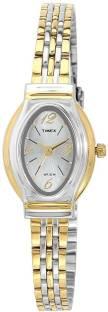 Timex TW000JW25 Silver Dial Analog Women's Watch (TW000JW25)