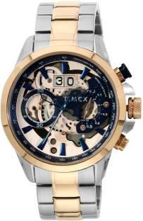 Timex TWEG16312 Blue Dial Analog Men's Watch (TWEG16312)