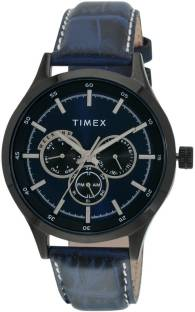 Timex TW000T312 Black Dial Analog Men's Watch (TW000T312)