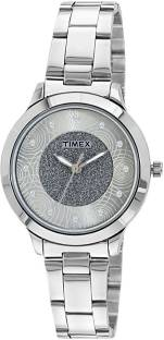 Timex TW000T611 Silver Dial Analog Women's Watch (TW000T611)