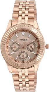 Timex TW0TL9012 Brown Dial Analog Women's Watch (TW0TL9012)