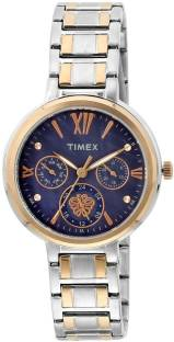 Timex TWEL11705 Blue Dial Analog Women's Watch (TWEL11705)