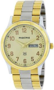 Maxima 45244CMGT Champagne Dial Analog Men's Watch (45244CMGT)