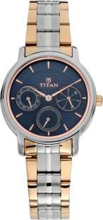 Titan Neo 2589KM02 Blue Dial Analog Women's Watch (2589KM02)