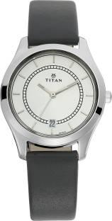 Titan Neo 2596SL01 Silver Dial Analog Women's Watch (2596SL01)