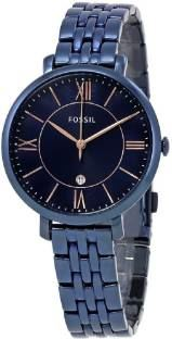 Fossil ES4094 Jacqueline Analog Blue Dial Women's Watch (ES4094)