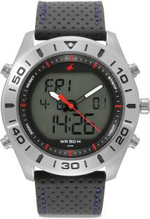 Fastrack 38034SL03 Red Dial Analog Men's Watch (38034SL03)