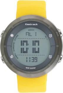 Fastrack 38047PP01 Trendies Grey Dial Digital Men's Watch (38047PP01)