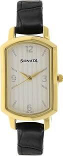 Sonata NK8139YL01 Elite Analog Women's Watch (NK8139YL01)