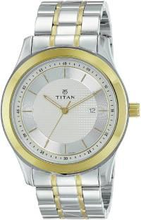 Titan Regalia 1627BM03 Baron Champagne Dial Analog Men's Watch (1627BM03)