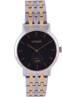 Citizen BE9174-55E Black Dial Analog Watch For Men (BE9174-55E)