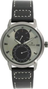 Titan 1756QL01 Round Dial Analog Men's Watch (1756QL01)