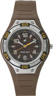 Fastrack 9333PP06 Brown Dial Analog Watch For Men (9333PP06)