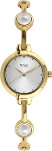 Titan Raga 2576YM01 Beige Dial Analog Women's Watch (2576YM01)