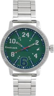Fastrack 3178SM01 Varsity Silver Dial Analog Men's Watch (3178SM01)