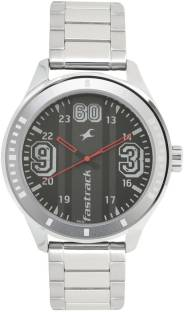 Fastrack 3177SM03 Varsity Silver Dial Analog Watch For Men (3177SM03)