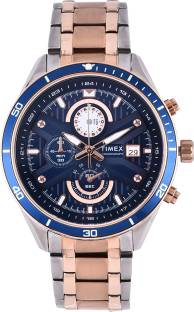 Timex TWEG15207 Blue Dial Analog Men's Watch (TWEG15207)