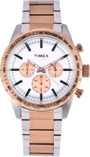 Timex TWEG15610 Silver Dial Analog Men's Watch (TWEG15610)