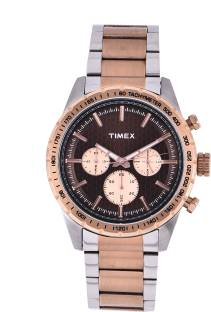 Timex TWEG15611 Brown Dial Analog Men's Watch (TWEG15611)