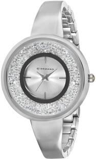 Giordano C2064-11 Silver-Toned Analog Women's Watch (C2064-11)