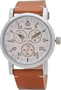 Timex TWEG16600 Silver Dial Analog Men's Watch (TWEG16600)