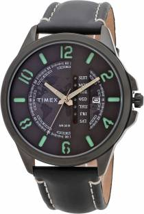 Timex TWEG16505 Grey Dial Analog Men's Watch (TWEG16505)