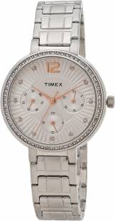 Timex TWEL11900 Silver Dial Analog Women's Watch (TWEL11900)