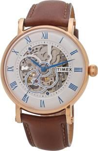 Timex TWEG16705 Automatic Round Dial Analog Men's Watch (TWEG16705)