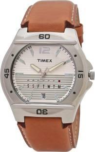 Timex TW000EL10 Silver Dial Analog Men's Watch (TW000EL10)