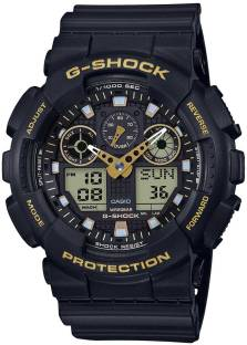 Casio G-Shock GA-100GBX-1A9DR G780 Black Dial Analog Watch For Men (GA-100GBX-1A9DR G780)