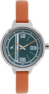 Fastrack 6174SL03 Varsity Silver Dial Analog Watch For Women (6174SL03)