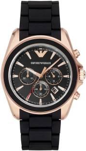 Emporio Armani AR6066I Black Dial Analog Men's Watch