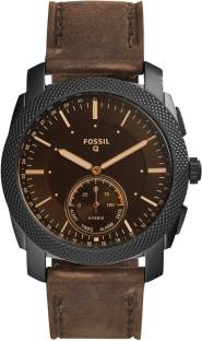 Fossil FTW1163 Brown Analog Unisex Watch