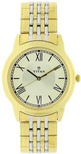 Titan NK1735BM01 Analog Beige Dial Men's Watch (NK1735BM01)