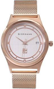 Giordano C2024-11 White Dial Analog Women's Watch (C2024-11)