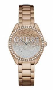 Guess W0987L3 Rose Gold Analog Dial Women's Watch (W0987L3)