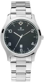 Titan Neo 1770SM02 Black Dial Analog Men's Watch (1770SM02)