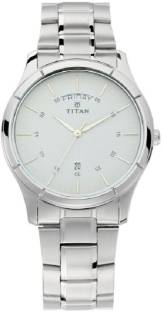 Titan Neo 1767SM01 White Dial Analog Men's Watch (1767SM01)