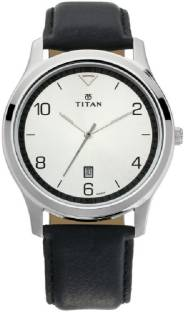 Titan Neo 1770SL01 Analog Silver Dial Men's Watch (1770SL01)