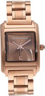 Giordano C2025-11 Brown Dial Analog Women's Watch (C2025-11)
