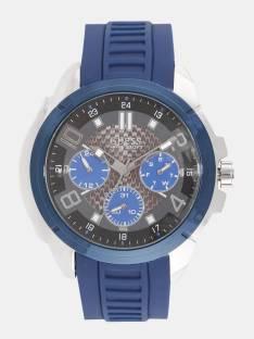 Guess W1050G1 Grey Multifunction Analog Men's Watch (W1050G1)