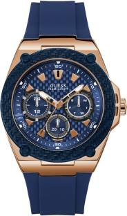 Guess W1049G2 Blue Dial Multi Function Men's Watch (W1049G2)