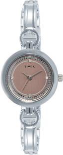 Timex TWEL11401 Analog Silver Dial Women's Watch (TWEL11401)