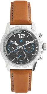 Fastrack 3169SL01 Loopholes Analog Black Dial Men's Watch (3169SL01)